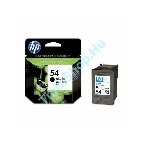 HP CB334A (No.54) BK fekete (BK-Black) eredeti (gyári, új) tintapatron