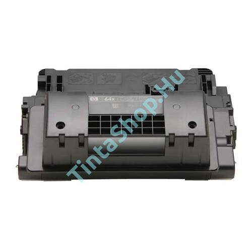 HP CC364X (No.64X) BK fekete (BK-Black) nagy kapacitású (utángyártott) toner