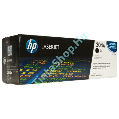 HP CC530A (No.304A) BK fekete (BK-Black) eredeti (gyári, új) toner