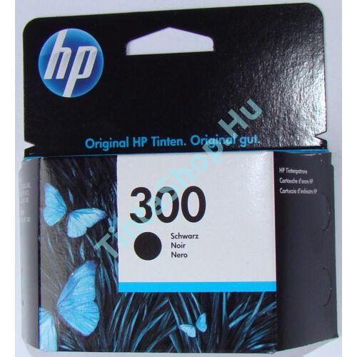 HP CC640EE (No.300 BK) fekete (BK-Black) eredeti (gyári, új) tintapatron