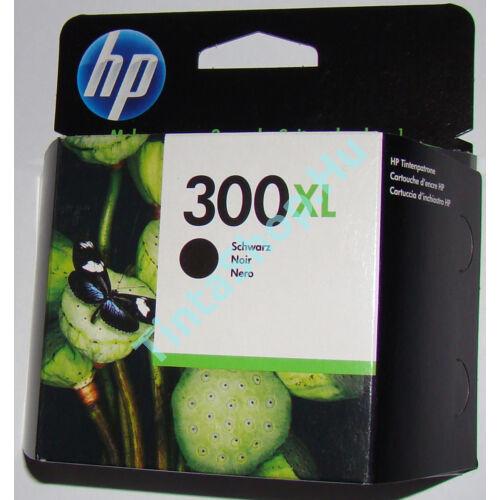 HP CC641EE (No.300 BK XL) fekete (BK-Black) nagy kapacitású eredeti (gyári, új) tintapatron
