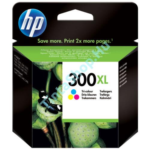 HP CC644EE (No.300 XL C) színes (C-Color) nagy kapacitású eredeti (gyári, új) tintapatron