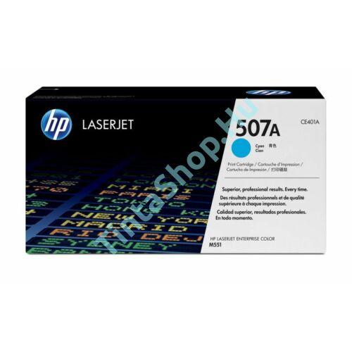 HP CE401A (No.507A) CY cián (kék) (CY-Cyan) eredeti (gyári, új) toner