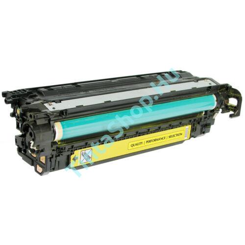HP CE402A (No.507A) YL sárga (YL-Yellow) kompatibilis (utángyártott) toner