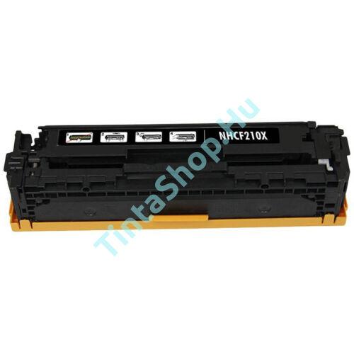 HP CF210A (No.131A) BK fekete (BK-Black) kompatibilis (utángyártott) toner