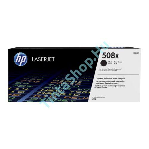 HP CF360X (No.508X) BK fekete (BK-Black) nagy kapacitású eredeti (gyári, új) toner
