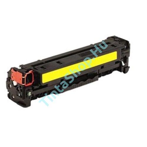 HP CF382A (No.312A) YL sárga (YL-Yellow) kompatibilis (utángyártott) toner