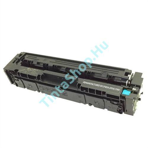 HP CF401X (No.201X) CY cián-kék (CY-Cyan) nagy kapacitású kompatibilis (utángyártott) toner