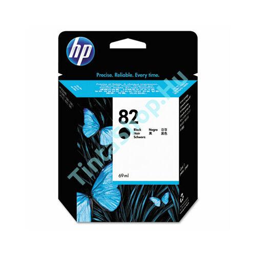 HP CH565A (No.82) BK fekete (BK-Black) eredeti (gyári, új) tintapatron