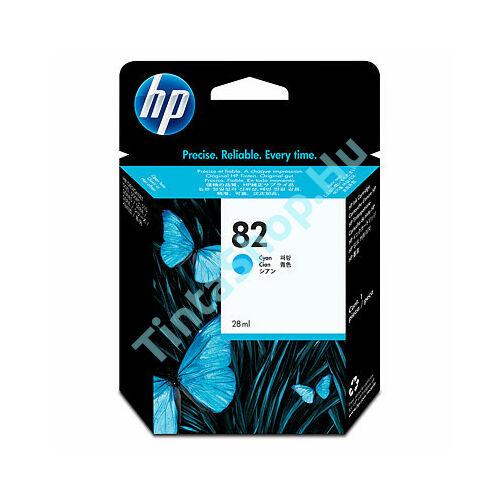 HP CH566A (No.82) CY cián (kék) (CY-Cyan) eredeti (gyári, új) tintapatron