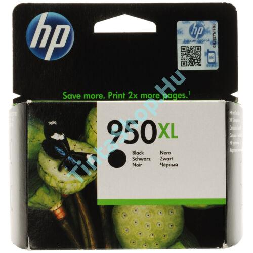 HP CN045AE (No.950 XL) BK fekete (BK-Black) nagy kapacitású eredeti (gyári, új) tintapatron