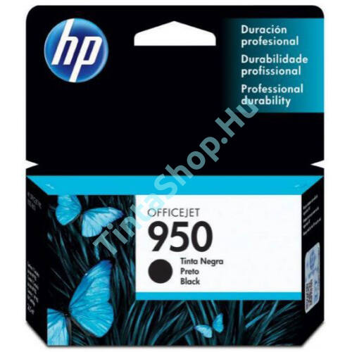 HP CN049AE (No.950) BK fekete (BK-Black) eredeti (gyári, új) tintapatron