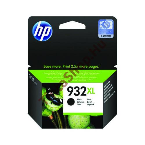 HP CN053AE (No.932 XL) BK fekete (BK-Black) nagy kapacitású eredeti (gyári, új) tintapatron