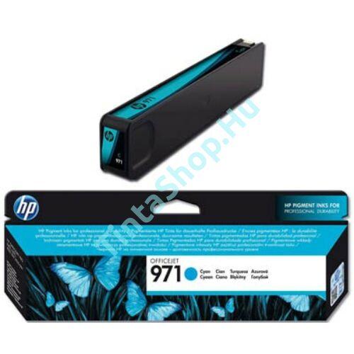 HP CN622AE (No.971) CY cián (kék) (CY-Cyan) eredeti (gyári, új) tintapatron