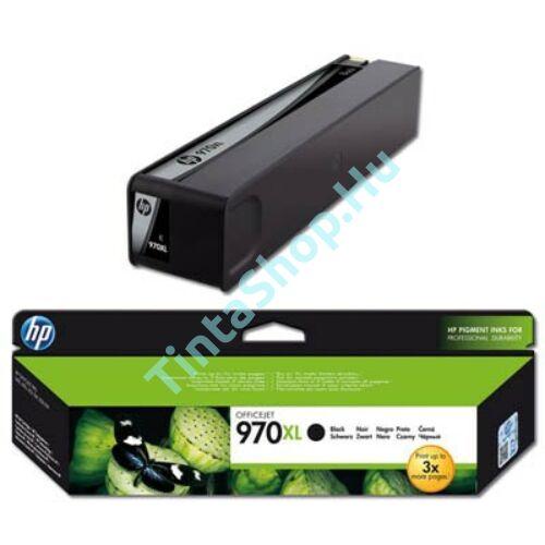 HP CN625AE (No.970 XL) BK fekete (BK-Black) nagy kapacitású eredeti (gyári, új) tintapatron
