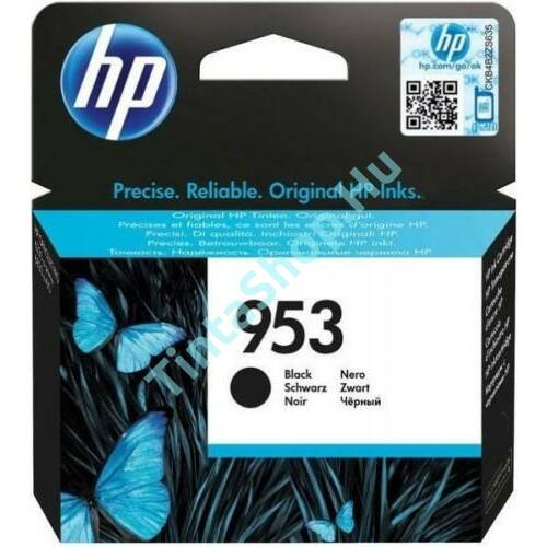 HP L0S58AE (No.953 BK) fekete (BK-Black) eredeti (gyári, új) tintapatron