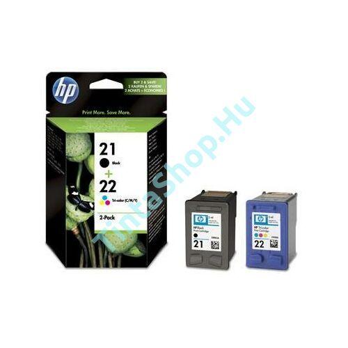 HP SD367AE (No.21-No.22) BK-C (Black-Color) eredeti (gyári, új) multipack