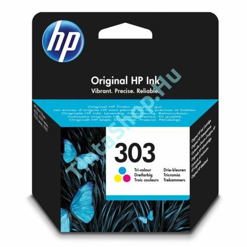 HP T6N01AE (No.303) színes (C-Color) nagy kapacitású eredeti (gyári, új) tintapatron