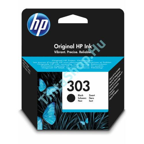 HP T6N02AE (No.303) BK fekete (BK-Black) eredeti (gyári, új) tintapatron