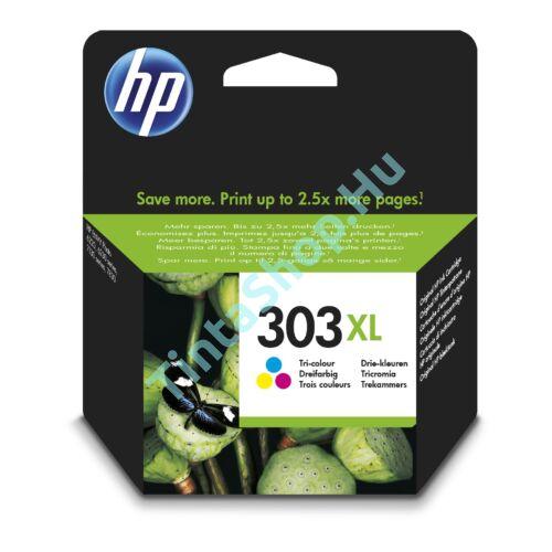 HP T6N03AE (No.303 XL) színes (C-Color) nagy kapacitású eredeti (gyári, új) tintapatron
