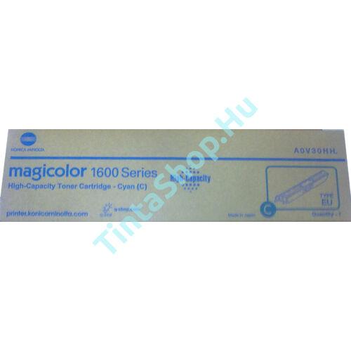 Minolta MC 1600 CY cián (kék) (CY-Cyan) nagy kapacitású eredeti (gyári, új) toner