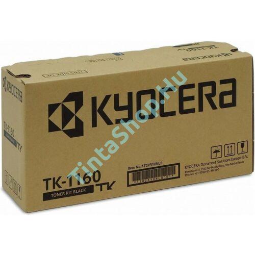 Kyocera TK-1160 BK fekete (BK-Black) eredeti (gyári, új) toner
