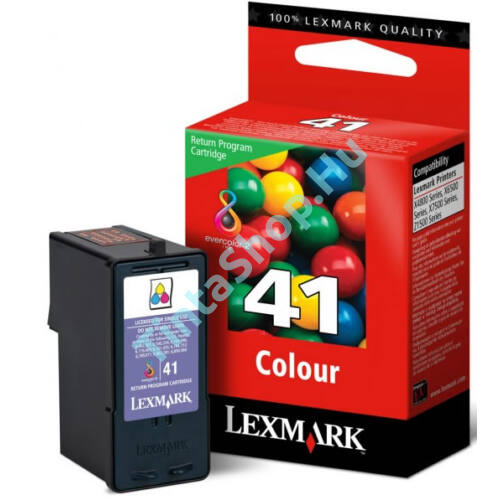 Lexmark 18Y0141 (No.41) C színes (C-Color) eredeti (gyári, új) tintapatron
