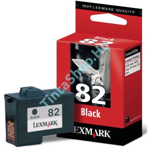 Lexmark 18L0032 (No.82) BK fekete (BK-Black) eredeti (gyári, új) tintapatron