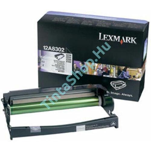 Lexmark 12A8302 (E232) BK fekete (BK-Black) eredeti (gyári, új) dobegység
