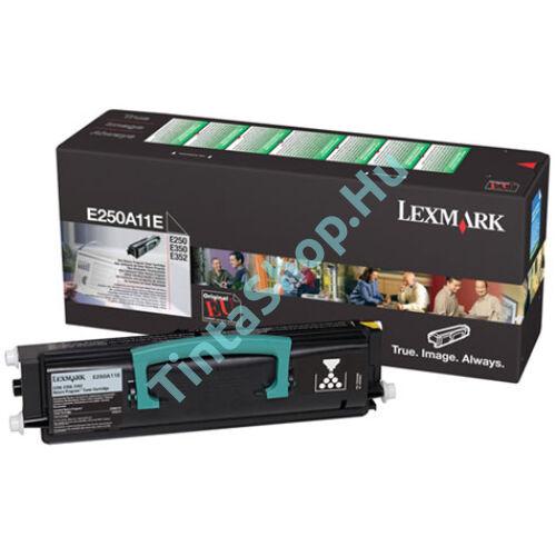 Lexmark 250A21E (E250 / E350 / E352) BK fekete (BK-Black) eredeti (gyári, új) toner