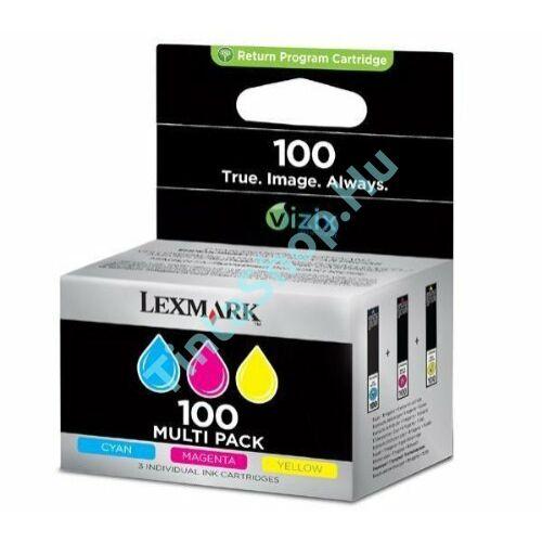 Lexmark 14N0849 (No.100) C színes (C-Color) eredeti (gyári, új) multipack