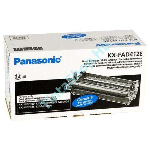Panasonic KX-FAD412E BK fekete (BK-Black) eredeti (gyári, új) dobegység