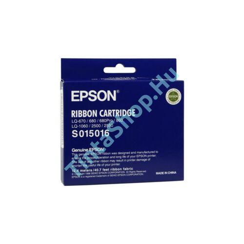 Epson LQ 670 BK fekete (BK-Black) eredeti (gyári, új) festékszalag