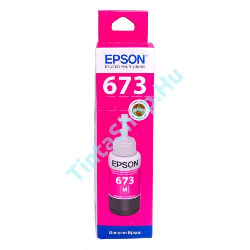 Epson T6733 MG bíbor (piros) MG-Magenta) eredeti (gyári, új) tinta