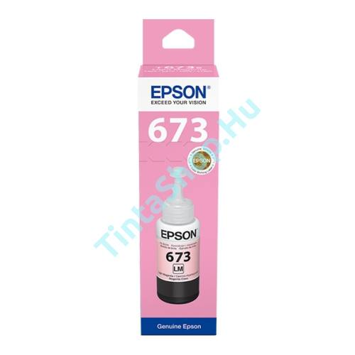 Epson T6736 LM light magenta (világos piros) (LM-Light Magenta) eredeti (gyári, új) tinta