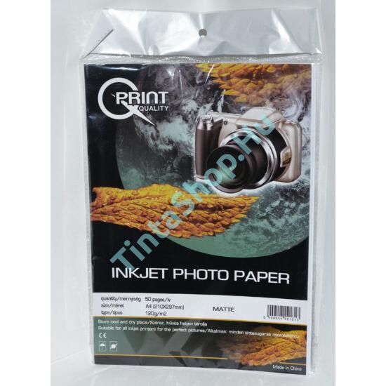 Q-Print A4/120 gr matt fotópapír (50 ív / csomag)