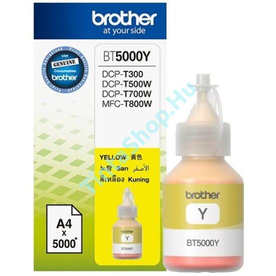 Brother BT5000 YL sárga (YL-Yellow) eredeti (gyári, új) tintapatron
