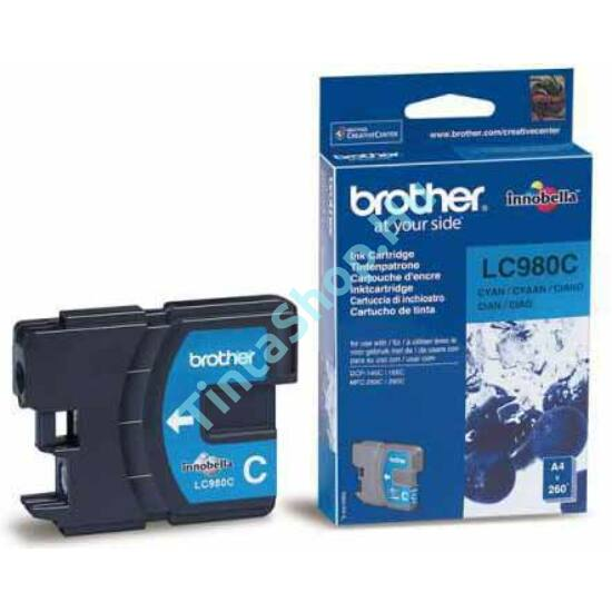 Brother LC980 CY cián kék (CY-Cyan) eredeti (gyári, új) tintapatron