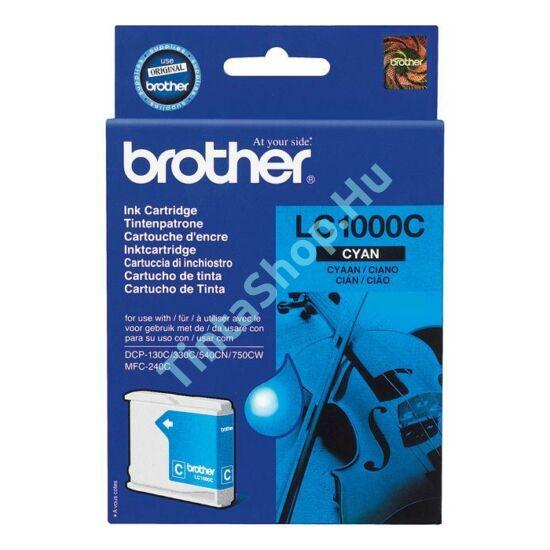 Brother LC1000 CY cián kék (CY-Cyan) eredeti (gyári, új) tintapatron
