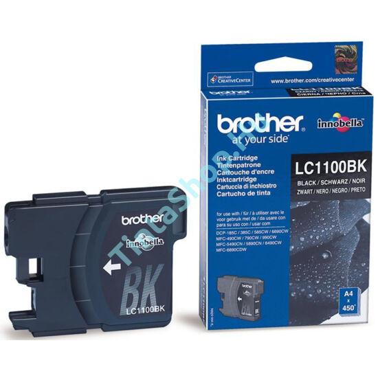Brother LC1100 BK fekete (BK-Black) eredeti (gyári, új) tintapatron