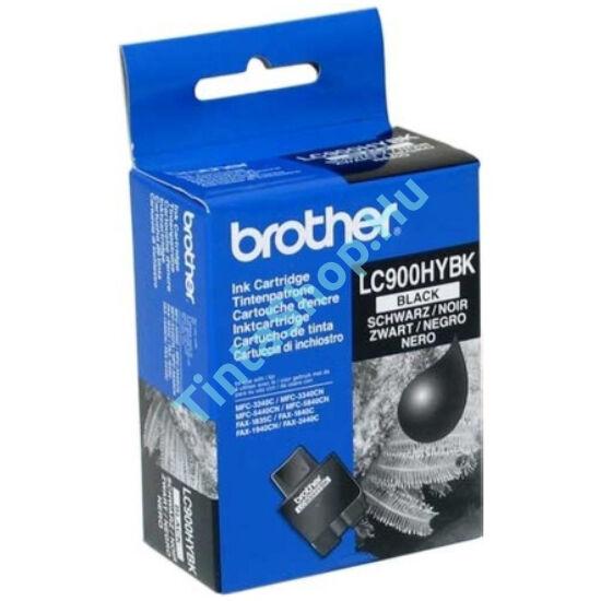 Brother LC900 HYBK fekete (BK-Black) nagy kapacitású eredeti (gyári, új) tintapatron