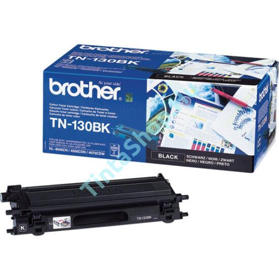 Brother TN-130 BK fekete (BK-Black) eredeti (gyári, új) toner