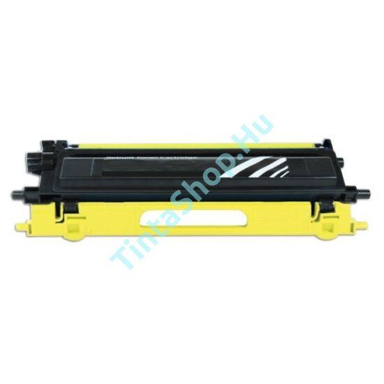Brother TN-135 YL sárga (YL-Yellow) kompatibilis (utángyártott) toner