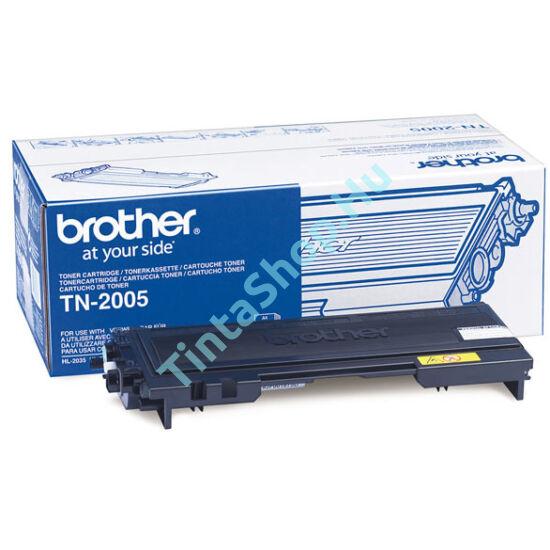 Brother TN-2005 BK fekete (BK-Black) eredeti (gyári, új) toner