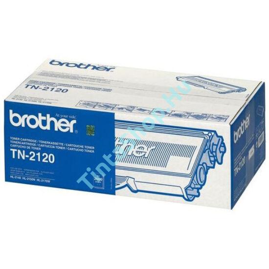Brother TN-2120 BK fekete (BK-Black) eredeti (gyári, új) toner