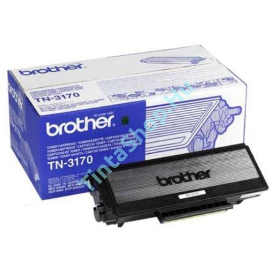 Brother TN-3170 BK fekete (BK-Black) nagy kapacitású eredeti (gyári, új) toner