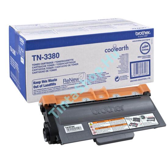 Brother TN-3380 BK fekete (BK-Black) nagy kapacitású eredeti (gyári, új) toner