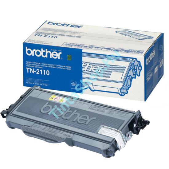 Brother TN-2110 BK fekete (BK-Black) eredeti (gyári, új) toner