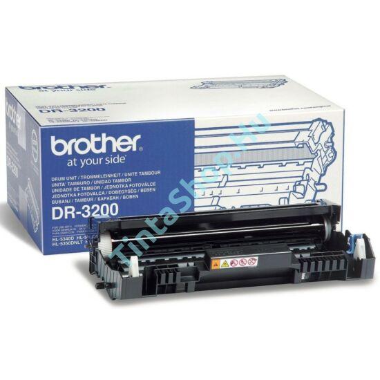 Brother DR 3200 BK fekete (BK-Black) eredeti (gyári, új) dobegység