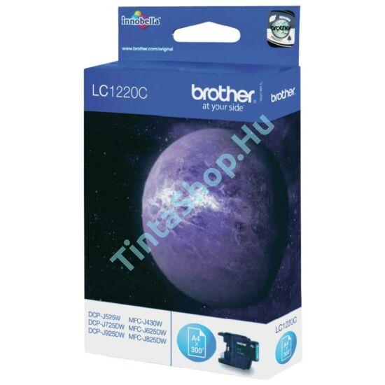 Brother LC1220 CY cián (kék) (CY-Cyan) eredeti (gyári, új) tintapatron